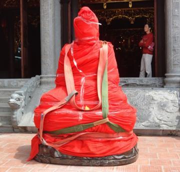 Cái 'duyên' của tượng Phật triệu đô nơi địa đầu Tổ quốc