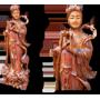 Tượng tiên nữ gỗ trầm hương