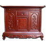 Tủ thờ Triện Phúc gỗ Gụ