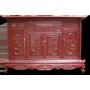 Tủ thờ tứ quý gỗ Gụ