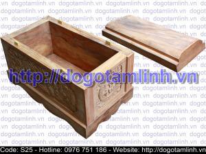 Quách gỗ Gù Hương trạm rồng