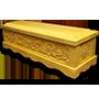 Áo quan tài gỗ Vàng Tâm trạm Rồng