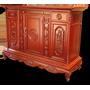 Tủ thờ triện thọ gỗ gụ