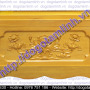 Quách gỗ vàng tâm trạm sen